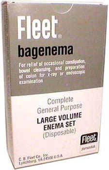 1500cc Fleet Large Volume Enema Bag